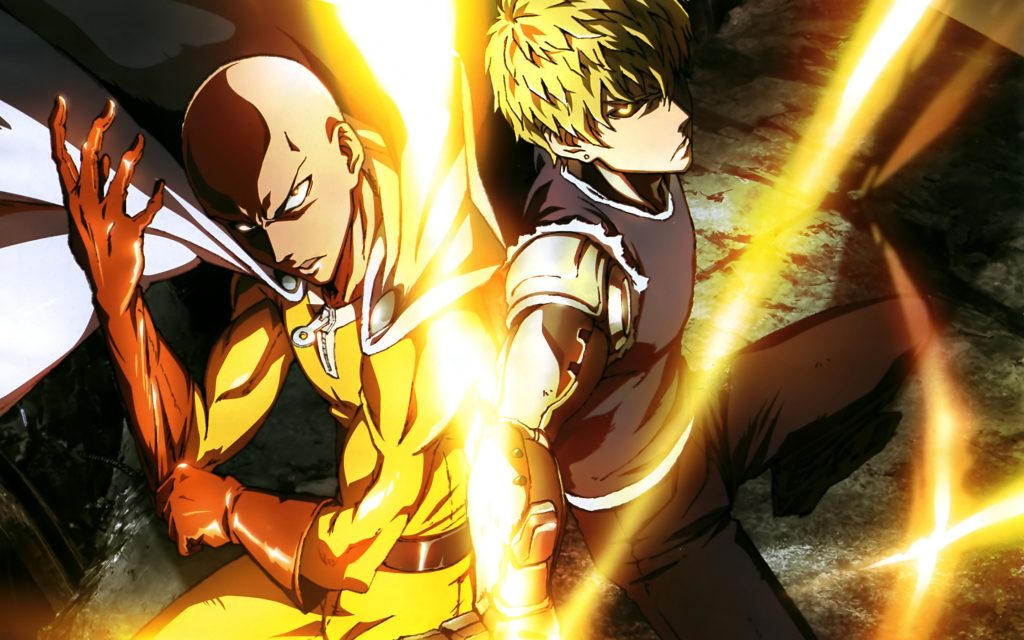 one punch man 2015 best animes